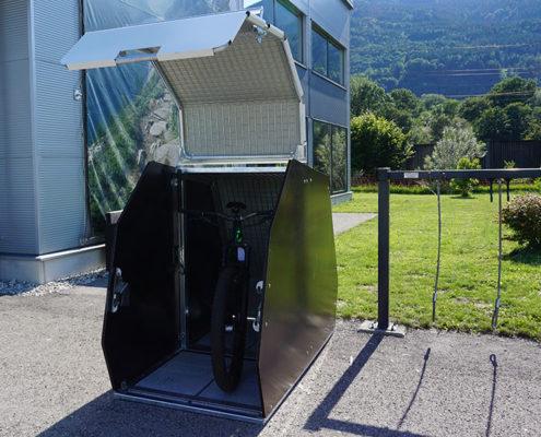 Dviračių stovai - saugyklos PEDALO RADBOX